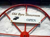 Old Byre Showroom, Machrie, Isle of Arran